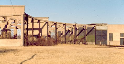 CO 16th Street Roundhouse Ruins 1972